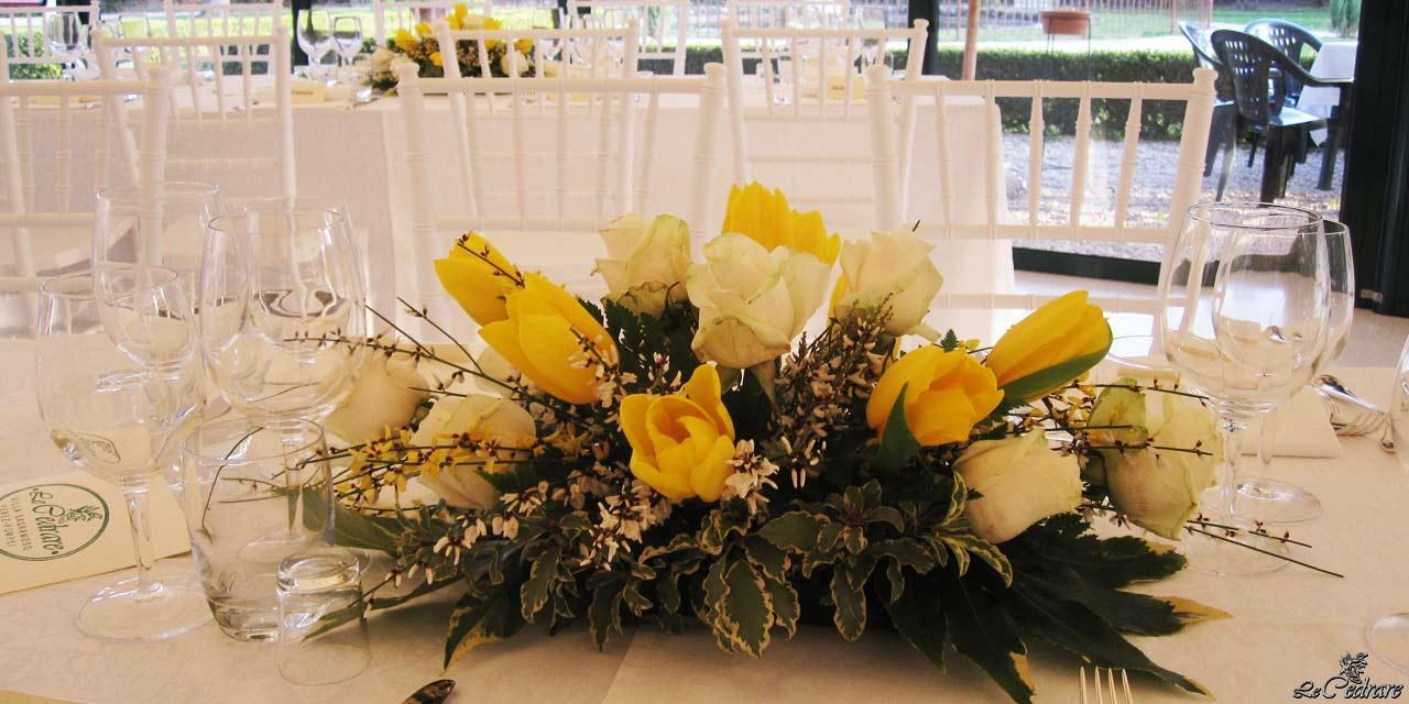 Floral decoration for wedding tabletrimonio