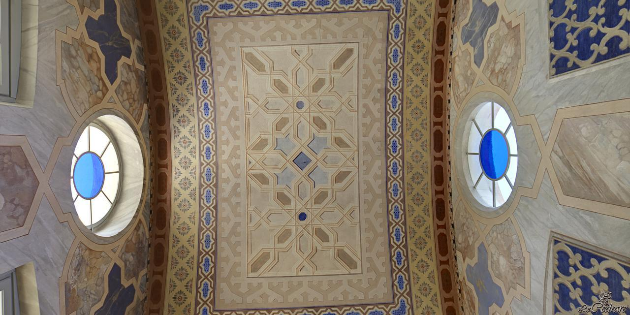 Ceiling of Le Cedrare
