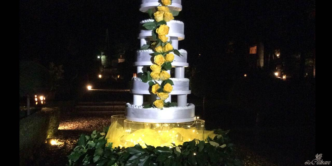 Sagramoso chef's wedding cake
