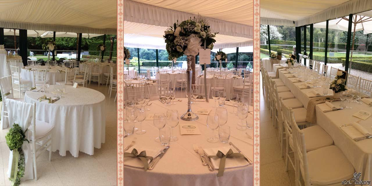 Restaurant with hall for weddings with many guests