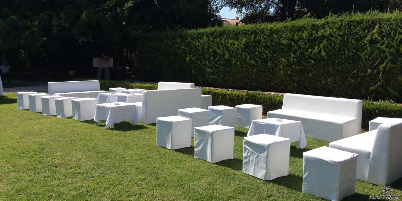 How to organize a summer wedding in the park of Le Cedrare restaurant