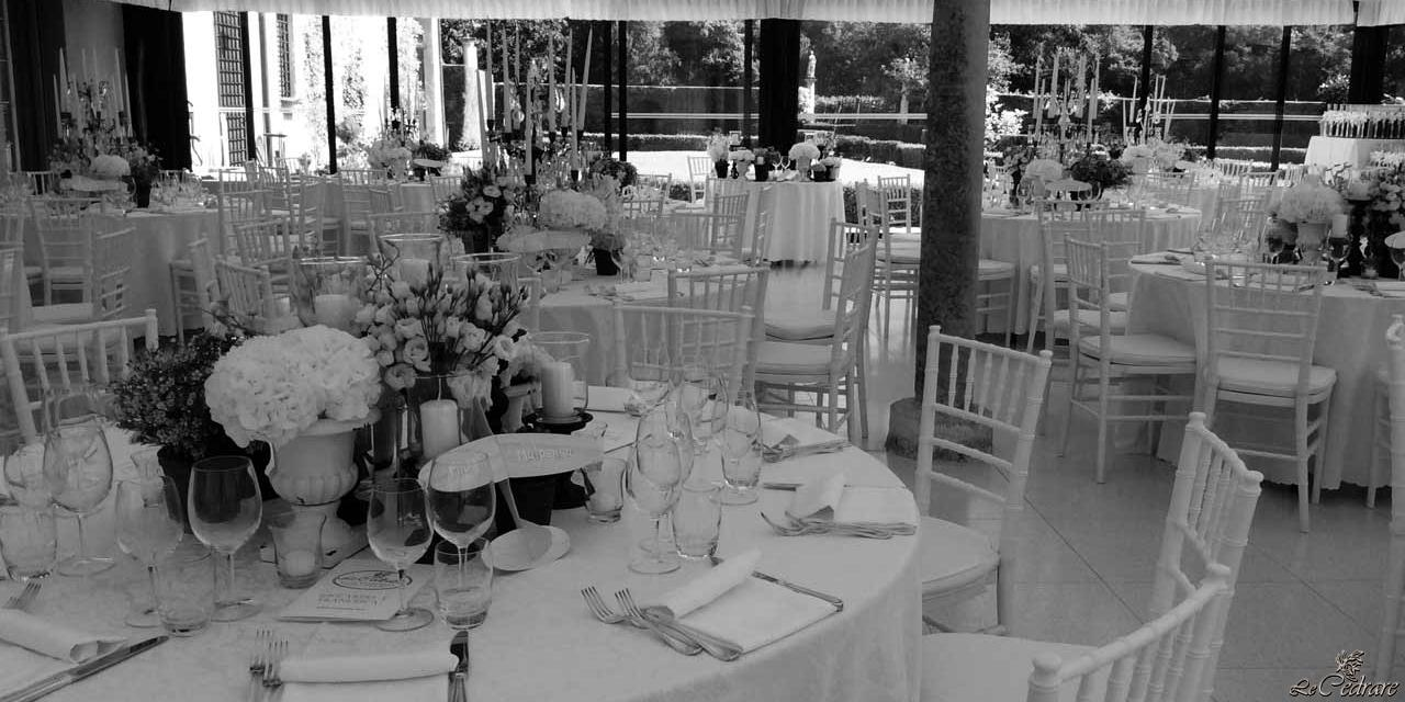 Restaurant for wedding with many guests, in Verona