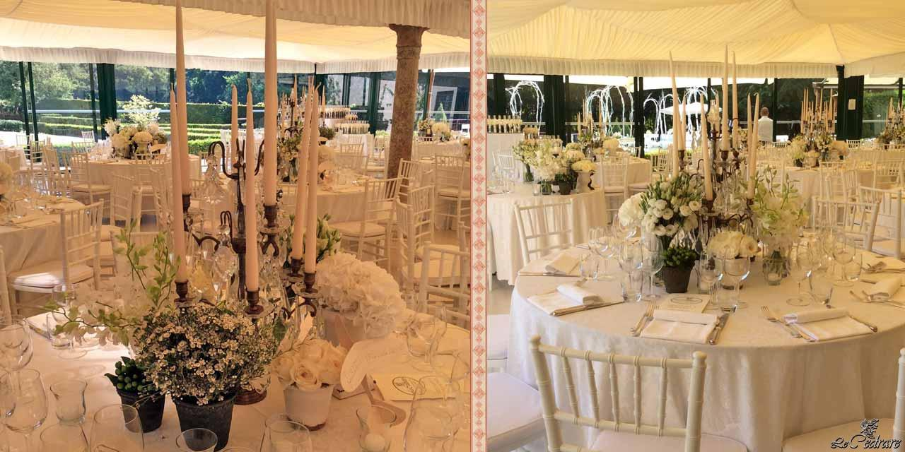 Restaurant with summer glass veranda for wedding in Verona