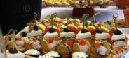 Mixed starters for wedding