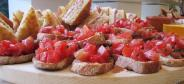 Mixed appetizers at the restaurant with banquet service for business dinners, special events and groups