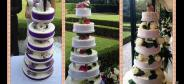 Wedding cakes for marriage at Cedrare