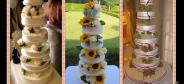 Wedding cakes by chef Sagramoso